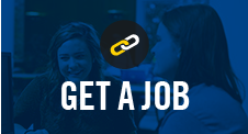 Get a Job at Career Services link button.